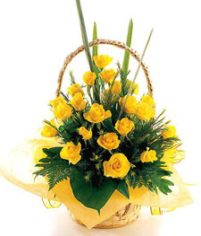 20 Yellow Roses
