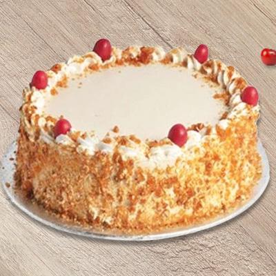 500 gms  ButterScotch Cake