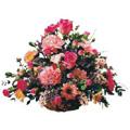Mixed Flower Basket 36 Flowers