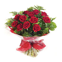 Red Roses Bouquet 15 Flowers