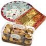 1 Kg Dry Fruits,500 gms Kaju Katli and 16 Pcs Ferrero Rocher