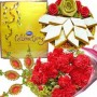 Carnations Kaju Katli Celebration and Rakhi